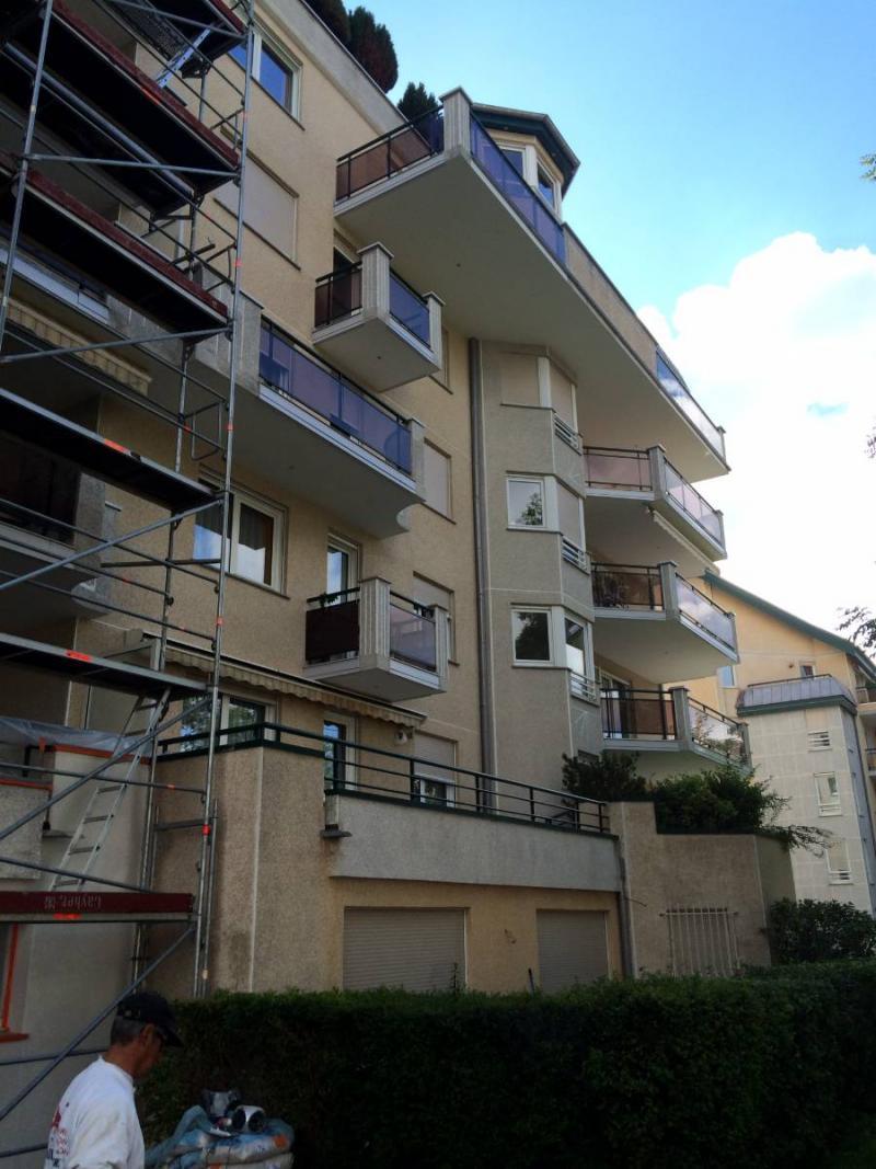 Rénovation. Traitement de façades Ancienne ITE