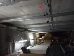 Plafonds sur suspente antivibratil - Phonique