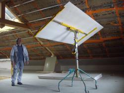Réalisation de plafonds en rampant de toiture